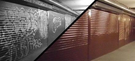 Nátěr lze aplikovat na všechny typy povrchů, zdroj: graffiti.cz