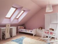 Kusový koberec v dětském pokoji, zdroj: shutterstock.com