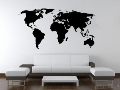 Mapa světa 999 Kč, zdroj: lepime.cz