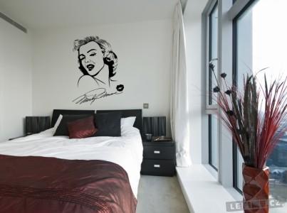 Marilyn Monroe samolepka na zeď, zdroj: lepime.cz