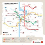 Plán metra Praha, zdroj: dpp.cz
