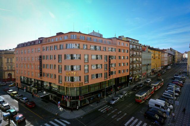 hotely v Praze