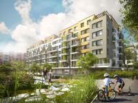Prosek Park V s plánovaným dokončením 2014, zdroj: finep.cz