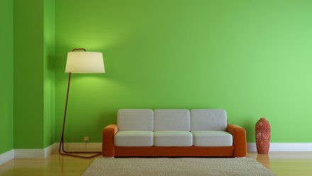 Syté barvy jsou náročnější na výmalbu, zdroj: shutterstock.com