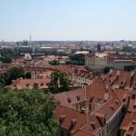 Překrásný výhled na Prahu z Jižních zahrad Pražského hradu, zdroj: redakce